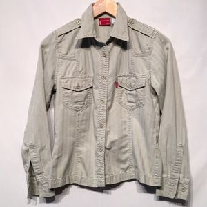 Levi's Super Cute Cotton Button Down Shirt Small